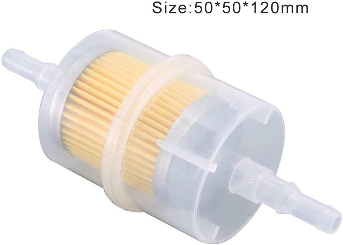 passend f/ür 6mm 8mm Rohre Paperllong/® 932 Inline Benzinfilter Gro/ßer Universal /Ölfilter