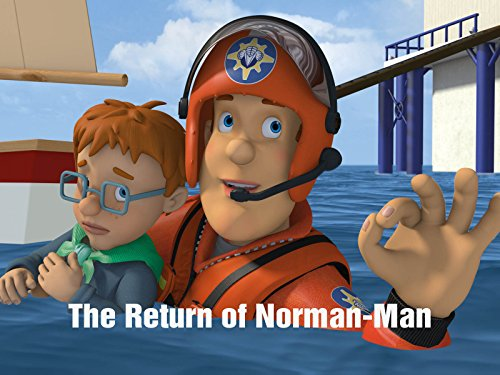 The Return of Norman-Man (Extended Episode) Animation Mens Watch