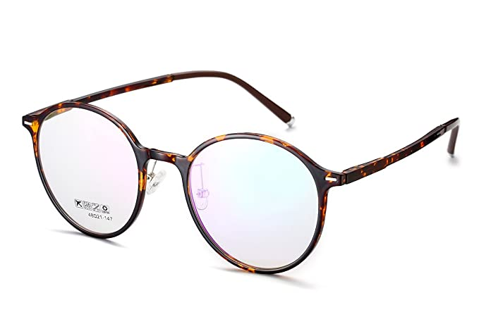 Amazon.com: PenSee Womens Oval Round Flexible TR90 Colorful Frames ...