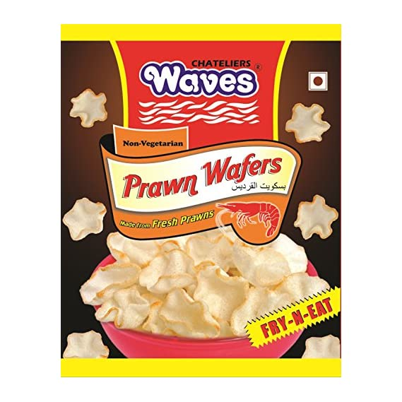 Waves Prawn Wafers, 100g