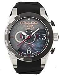 Mulco Era Bella Quartz Swiss Chronograph Movement Womens Watch | Mother of Pearl Sundial with Swarovski Accents...
