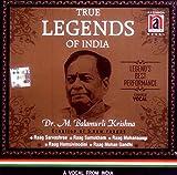 True Legends of India: Dr. M. Balamurli Krishna (Creation of 5 New Raagas) (Audio CD)