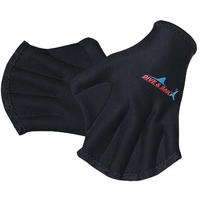 Gants de natation palmés en forme de canard pour natation plongée aquagym pour adultes