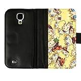 Libby Baldwin Custom Anime Naruto Sakura Sasuke Internal Pockets Diary Leather Cover Case for Samsung Galaxy S4 I9500