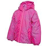 Spyder Girls Bitsy Glam Jacket Girlfriend Pink/Gir/Gir 693 Size 3