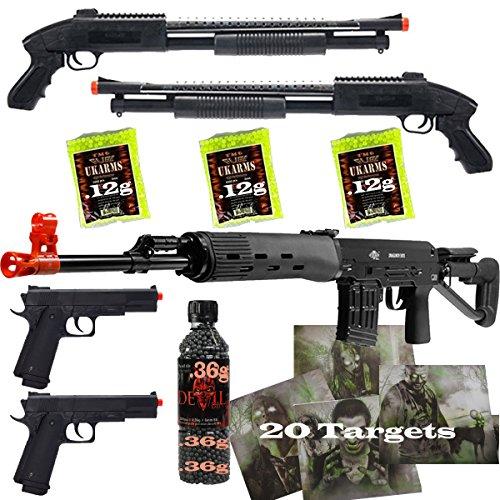 metal airsoft pistol 400 fps - 6