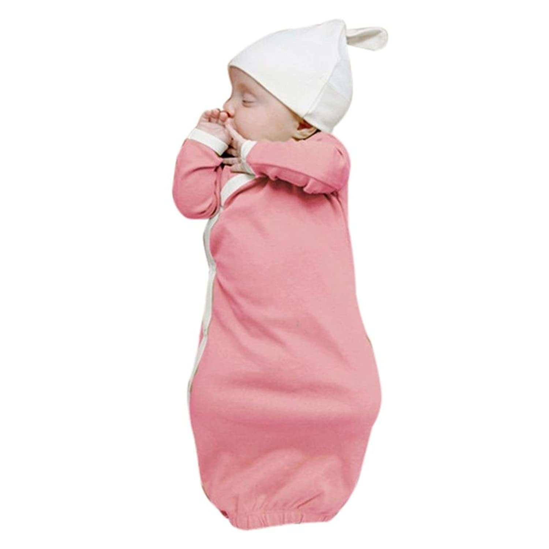 Fineser Newborn Infant Baby Boys Girls Sleep Gowns Sleeping Bag Warm ...