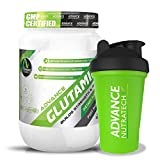 Combo Glutamine supplement powder 300gm (60 Servings) unflavoured With Shaker