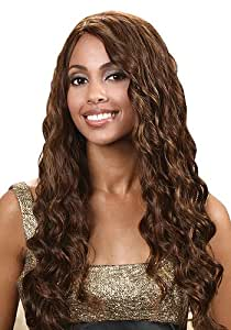 Bobbi Boss Indiremi OCEAN WAVE Virgin Human Hair Remy Weave (18 INCH, 4-LIGHT BROWN)