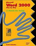 Microsoft Word 2000, Step-by-Step, Bonita Sebastian, 1574261274