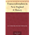 Transcendentalism in New England A History