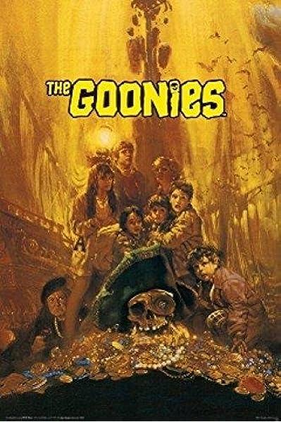 Treasure Classic Art Silk Poster H984 The Goonies Movie Poster