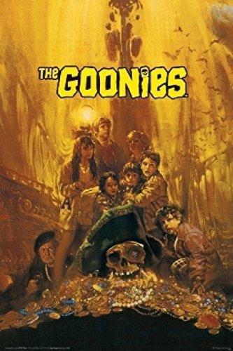 Buyartforless The Goonies Movie Poster 36x24 Classic 80's Ar