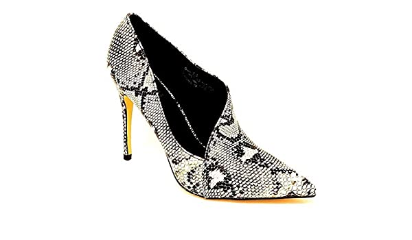 MAIERNISI JESSI Girls Glitter Faux Crystal Flower Mary Jane Dress Shoes