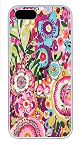 IPhone 5/5S Case Flower Fairy PC Hard Plastic Case for iPhone 5/5S Whtie