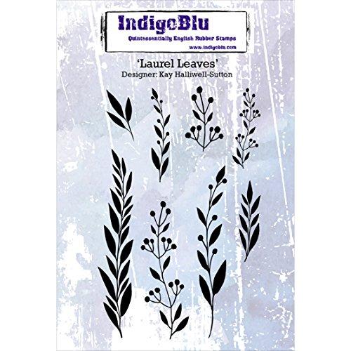 IndigoBlu IND0219 Cling Mounted Stamp, 5