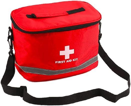 SHKY Bolsa de Primeros Auxilios, artículos Grandes de Supervivencia para emergencias con Bolsillo para el Estuche, Adecuado para Viajar a casa y al Trabajo: Amazon.es: Hogar