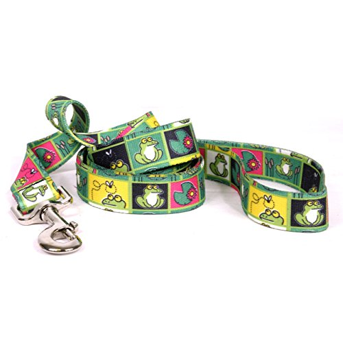 - Yellow Dog Design Standard Lead, Frogs, 3/4