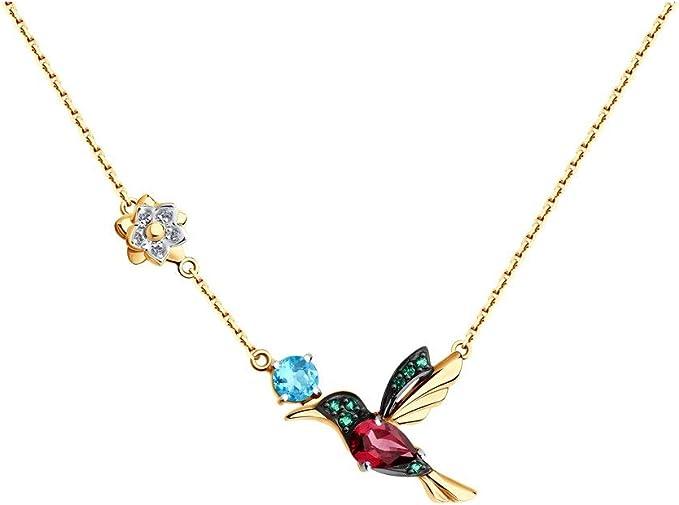 Armband Silber 925 Kolibri Goldrot