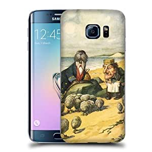 Case Fun Alice in Wonderland Walrus and The Carpenter Snap-on Hard Back Case Cover for Samsung Galaxy S6 Edge by icecream design