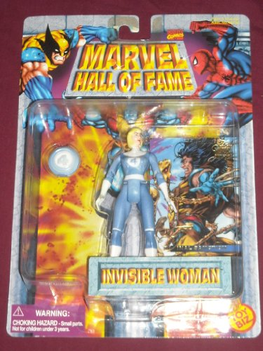 Price comparison product image Invisible Woman Marvel Hall of Fame Vintage Toy Biz Action Figure Fantastic Four
