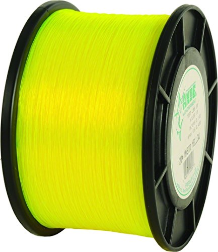 (ANDE MY00100050 Monster Monofilament, 1-Pound Spool, 50-Pound Test, Yellow Finish)