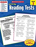 img - for Scholastic Success With Reading Tests, Grade 3 (Scholastic Success with Workbooks: Tests Reading) book / textbook / text book