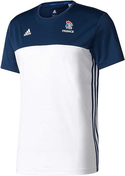 adidas BR6038 T Shirt Homme, BlancConavyBlanc, FR (Taille