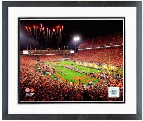 "Clemson Tigers Memorial Stadium Photo (Size: 12.5"" x 15.5"") Framed"