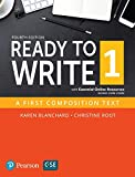Ready to Write 1 with Essential Online Resources (4th Edition)
