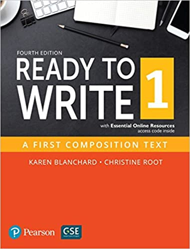 Amazon ready to write 1 with essential online resources 4th ready to write 1 with essential online resources 4th edition 4th edition fandeluxe Images