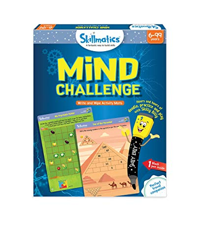 Skillmatics Educational Game: Mind Challenge 6-9 Years| STEM Learning | Creative Fun Activities|Gift for Boys and Girls Kids Ages 6 to 9 Years