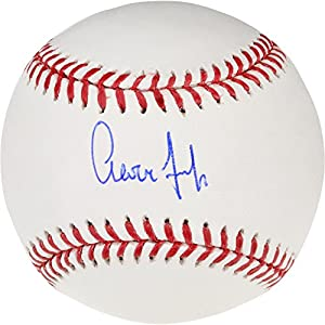 Aaron Judge New York Yankees Autographed Baseball Fanatics Authentic Certified Autographed Baseballs