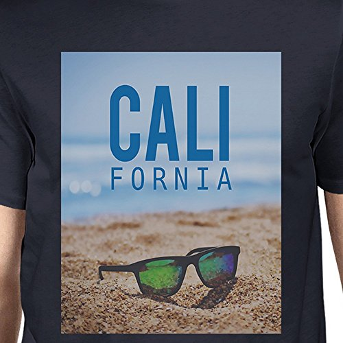 Beach Unique California Sunglass Taille Navy 365 Shirt T Printing Manches Homme Courtes shirt ww4vz08H