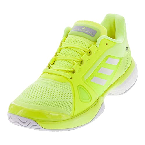 best loved 3e6e4 d7e61 Adidas Women`s Stella McCartney Barricade Boost 2017 Tennis Shoes Solar  Yellow and Wht -