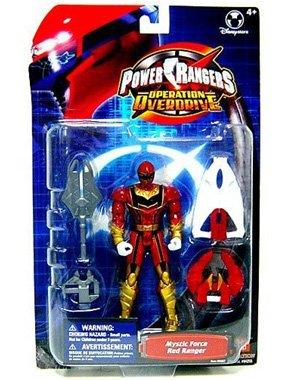 Disney Interactive Studios Power Rangers Operation Overdrive Mystic Force Red Ranger Action Figure