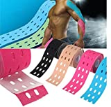 Blue, 5M*5CM Kinesiology Tape Sports Muscles Care Therapeutic Bandage by Siamsshop