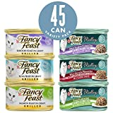 Purina Fancy Feast Seafood Collection Wet Cat Food Variety Pack – (45) 3 Oz. Cans Review
