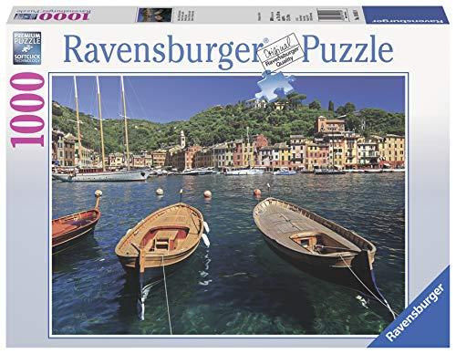 Ravensburger Harbor in Portofino, Italy 1000 Piece Puzzle
