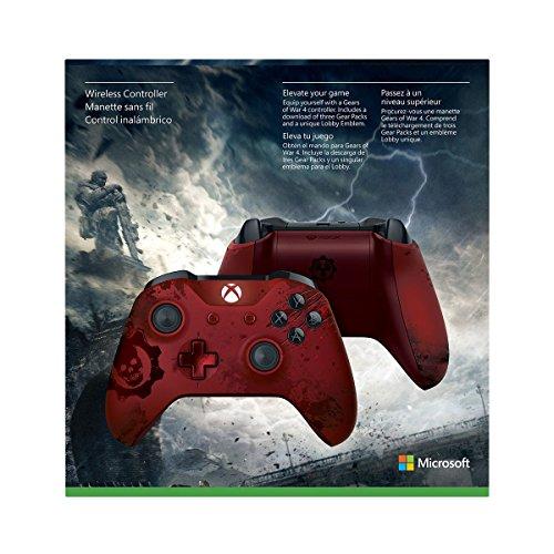Xbox Wireless Controller - Gears of War 4 Crimson Omen Limited Edition