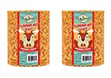 2-Pack of Mr. Bird Flaming Hot Feast Large Seed Cylinder 4 lbs. 3 oz.
