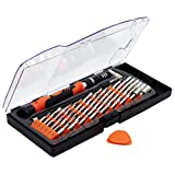 58 pcs in 1 Magnetic Precision Screwdriver Bit Sets, Repair Tool Kits for iPhone 8, Smart phones, PC, Macbook Pro, Laptops, Clock, Electronics Devices