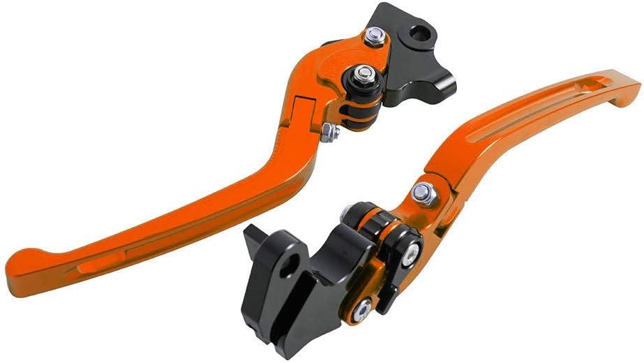 Oro Accessori per moto Leva della frizione del freno pieghevole in alluminio CNC 3D per Kawasaki Ninja 400 2018 per Ninja 300R//Z300 2013-2018 per Versys 300X 2017-2018