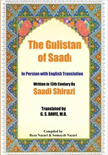 Amazon the gulistan of saadi in persian with english the gulistan of saadi in persian with english translation persian edition persian fandeluxe Images
