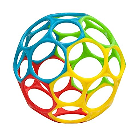 Oball Toy Ball, Multicolored, Assorted (1 Piece)