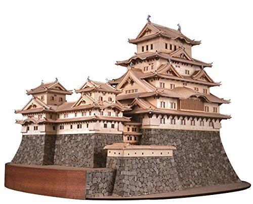 ウッディジョー 1/150 姫路城 木製模型 組立キット B0035J47CA