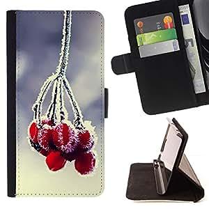 Momo Phone Case / Flip Funda de Cuero Case Cover - Planta Naturaleza Forrest Flor 84 - Samsung Galaxy J3 GSM-J300
