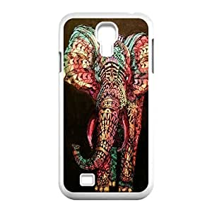 Custom Colorful Case for SamSung Galaxy S4 I9500, Colored Elephant Cover Case - HL-697495
