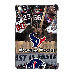 Sytlish Designed NFL Houston Texans Team Logo With Helmet Hard Snap-On Protective Skins For Ipad Mini 2