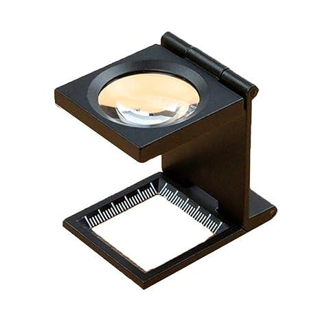 Espejo Mesa Mesa Xhh 10 Veces Lupa Plegable paño de de shrdtQCxBo